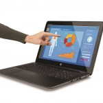 HP_ZBook_15u_Touch_G3_Mobile_Workstation,_Left_Facing_with_Female_Hand