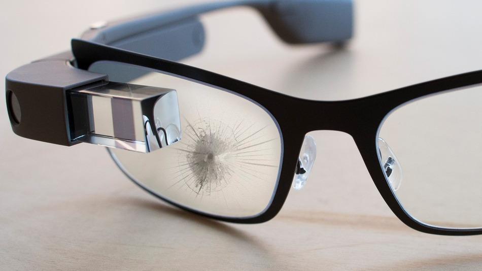 Broken Google Glass