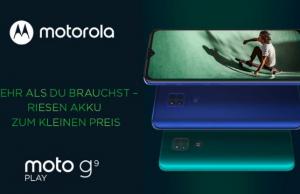Motorola Moto G9 Tanıtıldı!