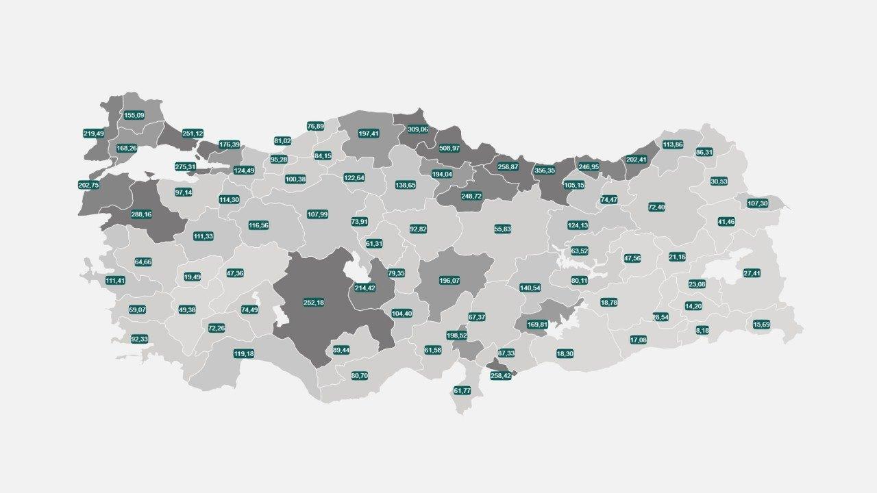Koronavirüs Risk Haritası